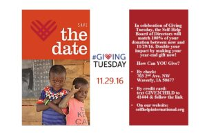 Join our #GivingTuesday Campaign