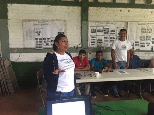 'Capacitación' at SHI Nicaragua's Training Center