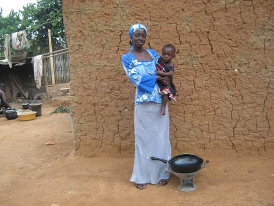 Young Mother Grateful for a Micro-credit Legacy