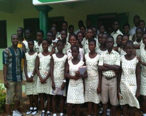 Local Students Visit Training Center